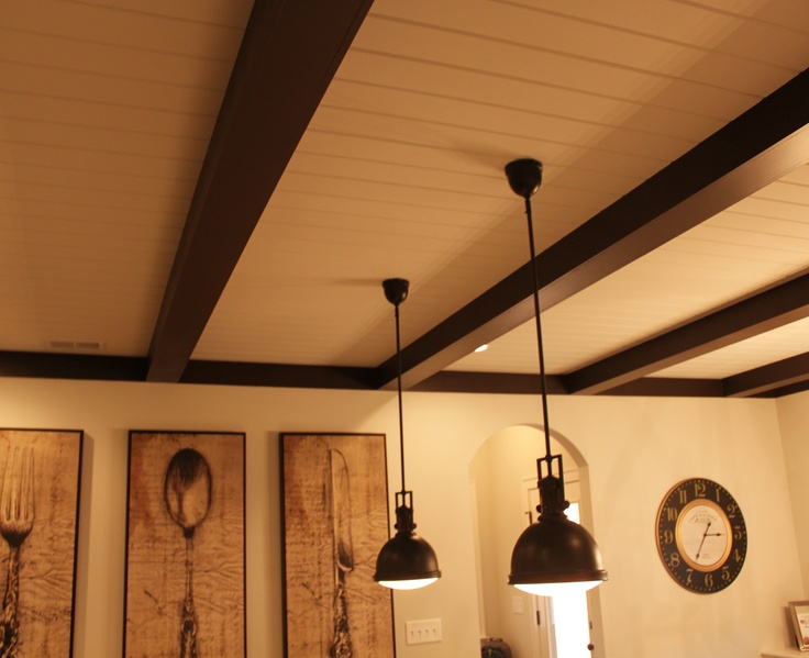 22 best images about painted ceilings with beams on Pinterest