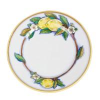Italian Pottery Deruta Limone Dinner Plate Ceramic with ...