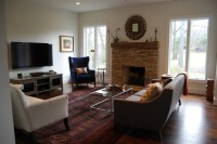 Tv fireplace, Furniture arrangement and Fireplaces on ...