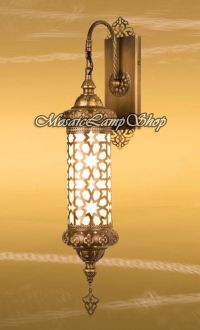 CYLINDER WALL LAMP, Turkish Lamp, laser cut metal,Moroccan
