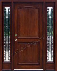 Mahogany Doors & Mahogany Front Doors With Sidelights N200 ...