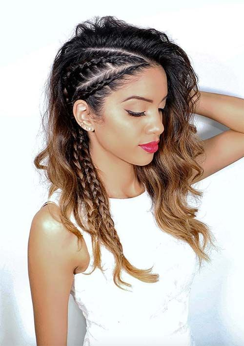 25 Best Ideas About Braided Hairstyles On Pinterest Simple