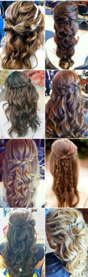 winter bridal hairstyles