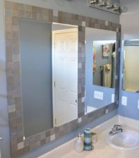 Best 25+ Tile mirror frames ideas on Pinterest
