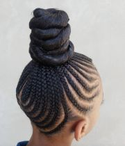 ideas braided buns