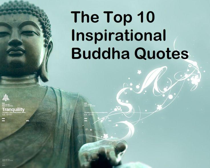 Top 10 Inspirational Buddha Quotes
