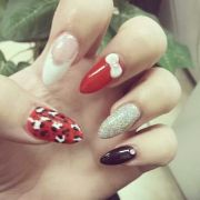 extreme almond acrylic nails
