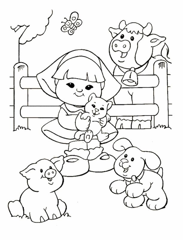 15 best images about Fisher Price Coloring Pages on Pinterest