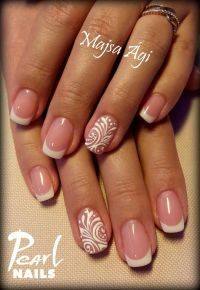 Best 25+ French nail art ideas on Pinterest | Wedding nail ...