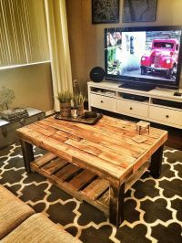 25+ best ideas about Pallet Coffee Tables on Pinterest ...
