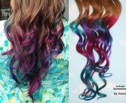 1000 ideas dyed tips