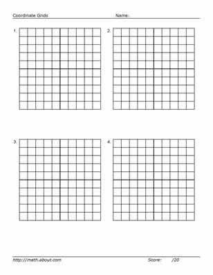 75 best Math Grids images on Pinterest