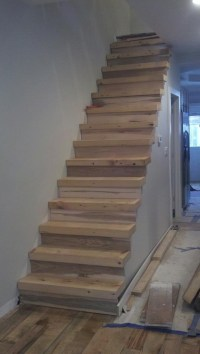 Recycled beam stairs   wooden stairs - scale in legno ...