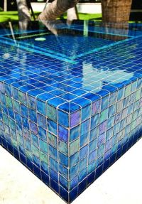- Lightstreams All Glass Pool Tile | Peacock Blue and Aqua ...