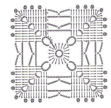 805 best images about croche doilies,squares, potholders-6