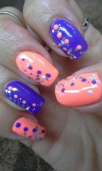 Bright summer nail art | My Art | Pinterest | Nail art ...
