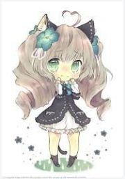 curly hair chibi girl chibi's