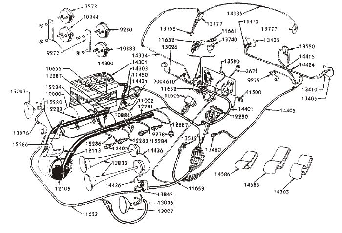 1940 Ford Flathead Wiring Diagram. Ford. AutosMoviles.Com