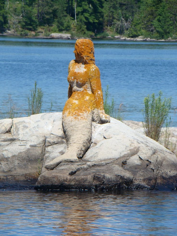 The Mermaid Of Rainy Lake, Voyageurs National Park