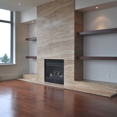 Contemporary Fireplace Design, Pictures, Remodel, Decor