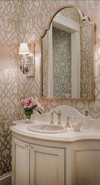 17 Best ideas about Powder Room Mirrors on Pinterest