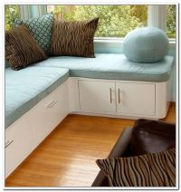 Corner storage bench, Corner storage and Bench seat on ...