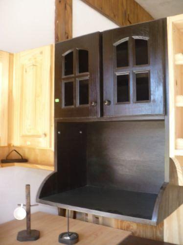 Mueble Microondas Pino