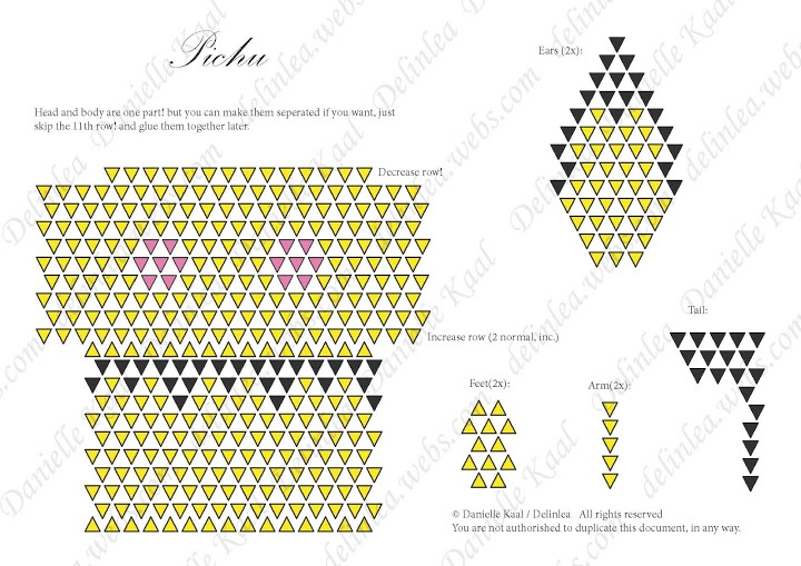 origami pokemon diagram freightliner columbia headlight wiring simple pichu, have done this already   pinterest