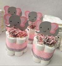 Elephant Baby Shower Decorations For Girl