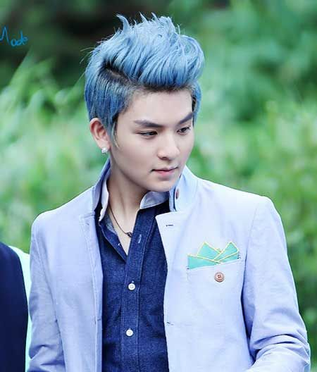 30 Blue Cool Asian Hairstyles Hairstyles Ideas Walk The Falls