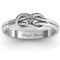 25+ best ideas about Love Knot Ring on Pinterest | Knot ...