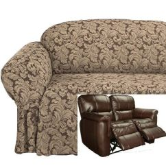 Double Recliner Sofa Slipcovers Italian Made Stretch To Fit Covers 17 Best Images About Slipcover 4 Couch On ...