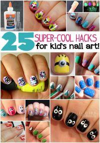 Best 25+ Kid nail designs ideas on Pinterest   Nail ...