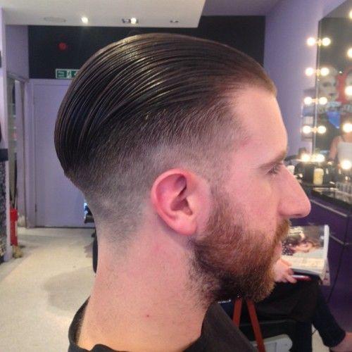 mens hair short fade slick back  Hair Styles  Pinterest  Shorts Men hair and Mens hair