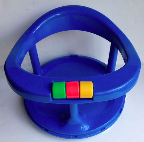 bathtub sitting chair for baby yellow chevron safety 1st bath seat swivel blue ring w suction cups infant | ebay ...