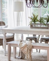 17 Best ideas about White Farmhouse Table on Pinterest ...