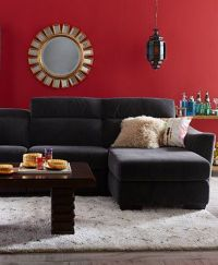 Alessandro Fabric Power Sectional Sofa Living Room ...