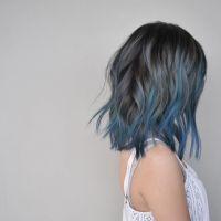 Best 25+ Blue hair streaks ideas on Pinterest | Blue hair ...