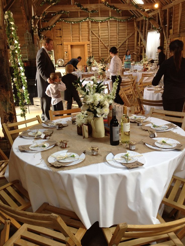 17 Best ideas about Rustic Wedding Tables on Pinterest  Vintage weddings decorations Fall