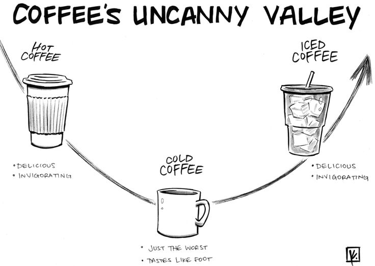 Coffee's uncanny valley sheldon comics: strip for June
