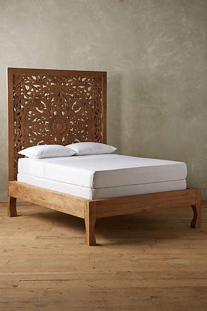 Lombok Bed  Lombok Anthropologie and Wood beds