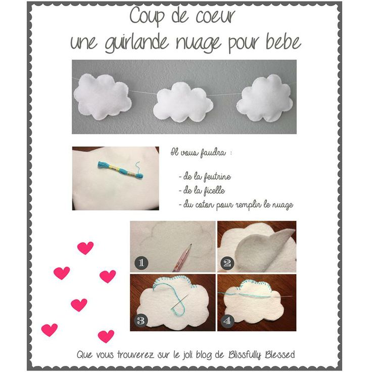 Dco chambre bb  Couture bb  enfants  Pinterest  DIY and crafts