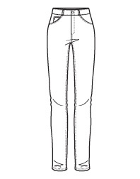 9 best images about Jeans and Trousers Line Drawings on