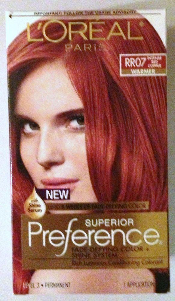 LOreal Paris Superior Preference Hair Dye Color # RR07