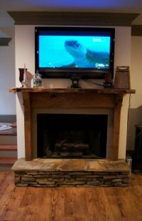 Finishing our basement...fireplace | From the blog~ the ...