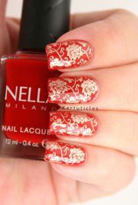 Best 25+ Red wedding nails ideas on Pinterest