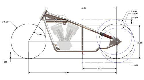 New Bobber Plans Instant Download Rigid Chopper Frame