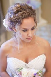 naturally curly updo ideas
