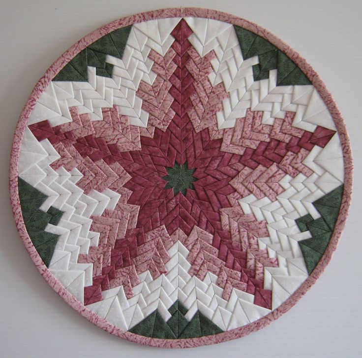 Want This Pattern Folded Circle Centerpiece Pattern