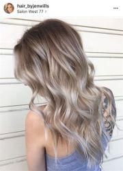 silver blonde hair ideas
